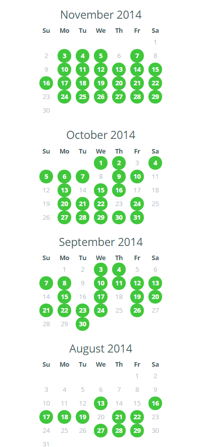 Monthly (Sep-Nov)Screenshot-Exercise