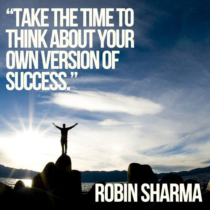 Take The Time - Robin Sharma